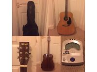 Quality Acoustic Guitar - Perfect Christmas Present (Second-hand, barely used)