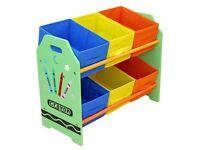 Brand new in box Crayon storage unit