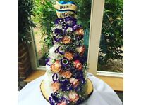 The Confection Tailor-Delicious Handcrafted Bespoke Wedding Cakes-Flower Center pieces