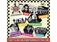 6 tickets for Ska Festival (half price)