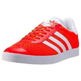 Mens Adidas Gazelle mesh trainers size 9.5 brand new