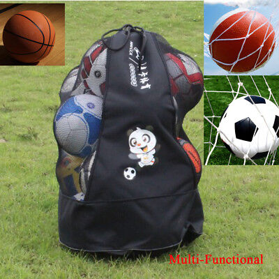 Large Mesh Equipment Bag Case Sack for All Outdoor & Water Sports Gear Black