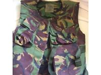 Army cover combat body armour. Size 180/116