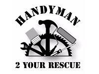 Handyman no job to big no job to small