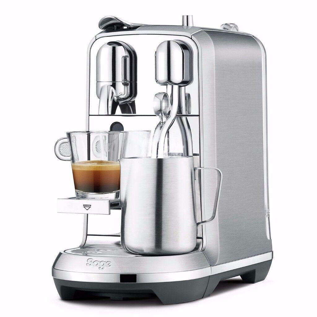 BRAND NEW IN BOX Nespresso Creatista Plus - Sage.