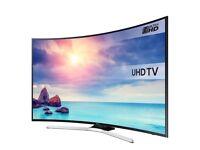 Samsung 49 inch Curved Smart 4K Ultra HD Slim LED TV, HDR, Quad Core, Netflix, Youtube, 4K Upscaling