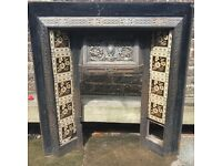 Cast Iron Victorian Fire Place