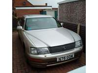 Lexus LS400 12 months MOT just relisted and reduced for quick sale