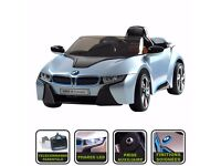 Official Licensed BMW I8 Kids Ride On Car Battery Powered Cars 12v Twin Motor