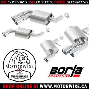 Borla ATAK Axleback Exhaust System | 2016-2018 Chevrolet Camaro SS | Shop & Order Online at motorwise.ca