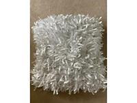 Set of White sofa cushion x 2