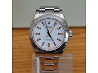 Rolex Milgaus - 2007 White dial As New £3750