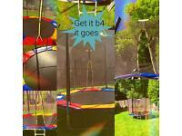 8ft trampoline from trampoline uk