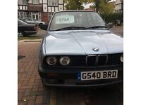 "E30 318i LUX coupe ""manual"" 10 months M.O.T £1000"