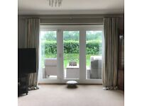 GP & J BAKER SILK CURTAINS & BLINDS INTERLINED AND LINED **OFFERS INVITED**