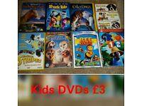 Big Kids DVD Bundle £3