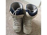 Ladies size 6 Snowboard boots