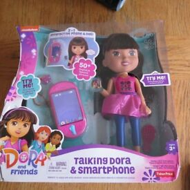 Talking Dora Interactive Doll with Smartphone Brand New in Box £25