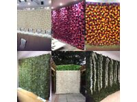 FLOWER WALLS/ BACK DROPS/ ARCHES/ PERGOLA/ CANDLE WALL/MEMORY WALL FOR HIRE