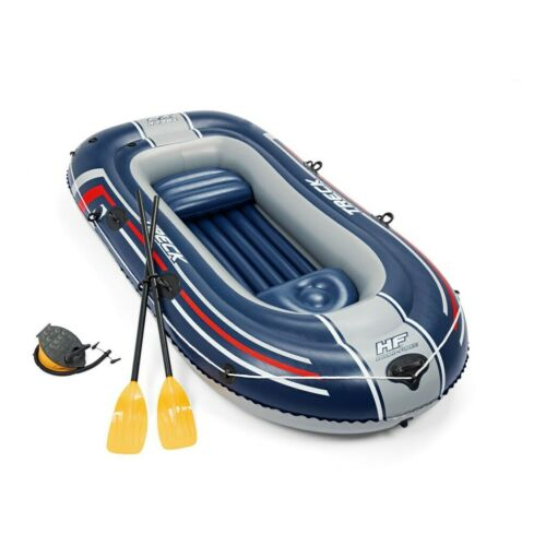 Bestway Hydro Force Inflatable 2 Person Raft Kayak Treck X2 Set with Oars New