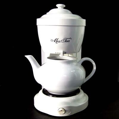 Mrs Tea HTM1 Electric Automatic Drip Hot Tea Maker by Mr Coffee 6 Cup Teapot