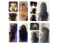 Luxury Hair Extension Service SPECIAL OFFER ON REMY TAPE HAIR, keratin bond