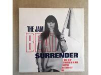 THE JAM Beat Surrender 12 INCH ORIGINAL 1982. MINT.