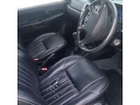 4x4 mitsubishi.. 10 months mot recent service 5 new tyres black leather interior no rips air con