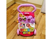 Pink V Tech Baby Walker £7