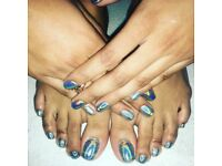 Gel polish and Polygel extension treatments - south london