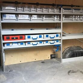 sortimo van racking system, high spec from VW Crafter
