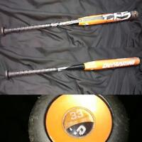 Demarini fast pitch bat 23 Oz 33 inch end loaded -10 composite