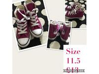 Converse All Star hitops size 11.5