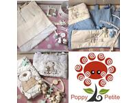 Bedding and Curtain Sets at Poppy Petite Preowned