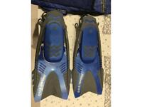 Powerflex Diver fins for sale