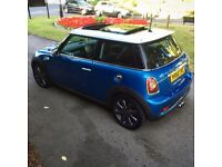 2006 56 Mini Cooper S 1.6 Turbo Hatch R56 Petrol Manual LOW MILEAGE FULLY LOADED