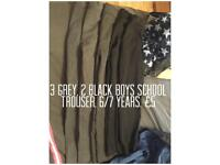 Boys school trousers 6/7 Years