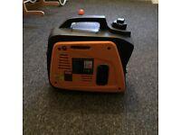 Petrol suitcase generator