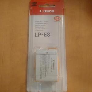 Canon LP-E8 Battery - brand new sealed, never used