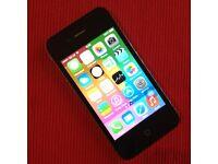 ** Big Storage ** Apple iPhone 4 - 32GB (A1332-MC605B/A) Black Smartphone [O2 Network]