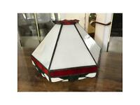 Tiffany style glass LAMPSHADE. Collect Northwich.