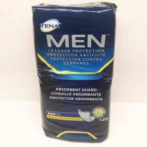 Tena Men Absorbent Guard 20 Per Pack Moderate Absorbency