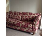 Two sofas. Sofa 1 is 82 x 40. Sofa 2 is 98 x 40. Clean, non smoking home.