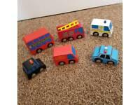 ELC wooden Vehicles