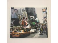 New York scene box canvas print
