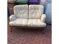 "Ercol ""Jubilee"" Vintage 2 Seater Sofa"