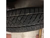 Dunlop winter tyre