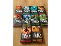 Been used once Alex rider books all books 1-10
