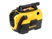 Dewalt xlr 18v vacum cleaner (no battery inc) 230v plug or battery wet and dry vac.