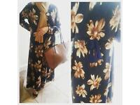 **BN** Gorgeous womens dress/abayah with matching scarf and belt, maxi style **BARGAIN**